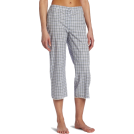 Tommy Hilfiger Pajamas -  Tommy Hilfiger Women's Woven Capri Multi Plaid