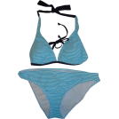 Tommy Hilfiger Costume da bagno -  Women's Tommy Hilfiger 2-Piece Bikini Blue and White Stripes