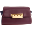 Z Spoke by Zac Posen Bolsas com uma fivela -  Z Spoke Zac Posen Eartha ZS1209 Clutch Blue Plum