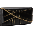 Z Spoke by Zac Posen Torbe s kopčom -  Z Spoke Zac Posen Shirley ZS1315 Clutch Black