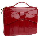 Z Spoke by Zac Posen Carteras tipo sobre -  Z Spoke by Zac Posen Women's Shirley Bow Clutch Ruby