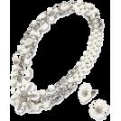 ABISTE(アビステ) Jewelry -  シェルネックレス&イヤリングセット/パープル