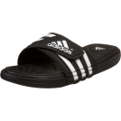 adidas Sandals -  adidas Men's Adissage Uf+ Sandal Black/Running White/Black
