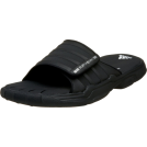 adidas Sandals -  adidas Men's SS 2G Slide PLUS Slide Black/Black/White