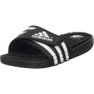 adidas Sandals -  adidas Women's Adissage W Sandal Black/Black/Run White
