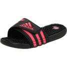 adidas Sandals -  adidas Women's Adissage W Sandal Black/Fresh Pink/Black