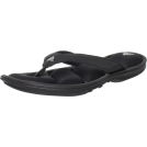 adidas Sandals -  adidas Women's Chilwyanda FF Sandal Black/Grey Rock/Metallic Silver
