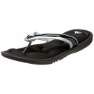 adidas Sandals -  adidas Women's Groovyanda FF Slide Black/Metallic Silver/Black