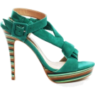 Elena Ekkah Sandals -  guess green sandals