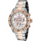 Invicta Relojes -  Invicta Men's Specialty Chronograph Silver Dial Two Tone 1204