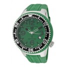 SWISS LEGEND Orologi -  SWISS LEGEND Men's Neptune Green Dial Green Rubber 21848P-08