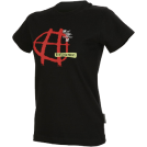Horsefeathers T-shirts -  nasty - black