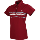 Horsefeathers T-shirts -  scratch - dk red