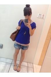 ブルーのトップス - Myファッションスナップ