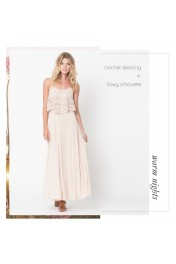 tiered maxi dresses - My look