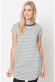 womens striped tunic - My look