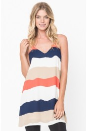 Colorblock Tank Dress - My look