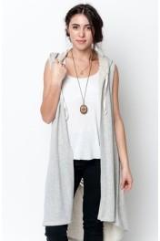 maxi dress vest - My look