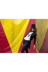 Black Suit haute couture