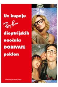 Ray Ban nagrauje