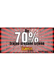Šupuica - 70%