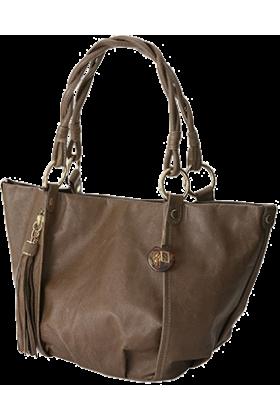 GALLARDAGALANTE(ガリャルダガラ) Bag -  ガリャルダガランテピッグラウンドタックバッグ