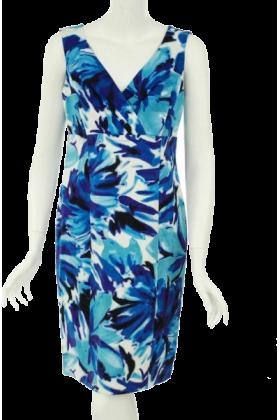 AK Anne Klein Dresses -  Anne Klein Sleeveless Dress Blueberry