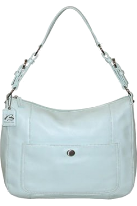 Buxton Hand bag -  B-Collective Handbags by Buxton 10HB041.BL Shoulder Bag- Blue