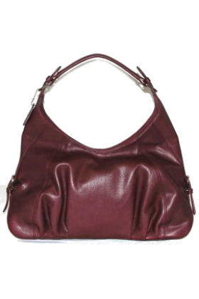 Buxton Hand bag -  B-Collective Handbags by Buxton 10HB065.BG Hobo- Burgundy