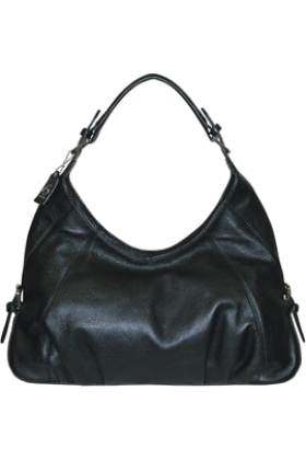 Buxton Hand bag -  B-Collective Handbags by Buxton 10HB065.BK Hobo- Black