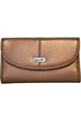 Buxton Clutch bags -  Bronze Buxton Metallic Organizer Clutch Wallet