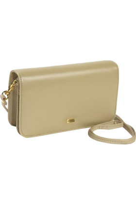 Buxton Clutch bags -  Buxton Check Clutch Mini Bag On A String Taupe