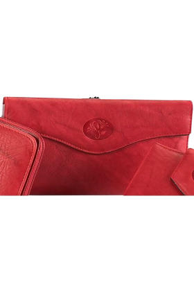 Buxton Clutch bags -  Buxton Heiress Organizer® Clutch RED
