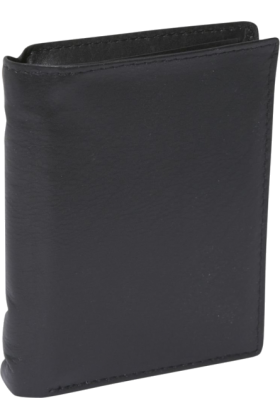 Buxton Wallets -  Buxton Houston Deluxe Two-Fold Black