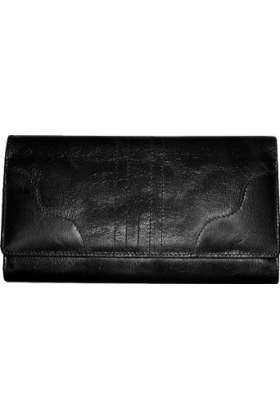 Buxton Wallets -  Buxton Mary Jane Multi-Organizer Card Cltch Black