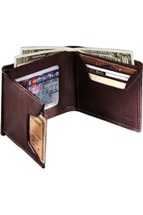 Buxton Wallets -  Buxton Mountaineer Executive Thinfold® Brown