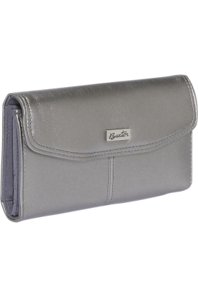 Buxton Clutch bags -  Buxton Muted Metallics Qal-Q-Clutch Pewter