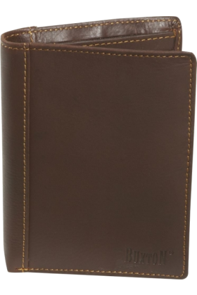 Buxton Кошельки -  Buxton Sandokan Exec Two-Fold Brown