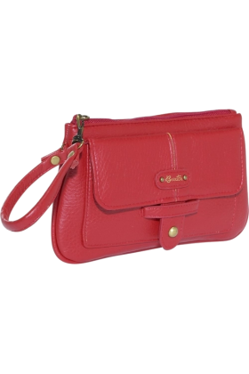 Buxton Wallets -  Buxton Valise Straplet Red