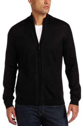 Calvin Klein Men'S Full Zip Cardigan Sweater - Cashmere Sweater ...