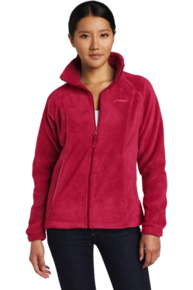 Columbia Long sleeves shirts -  Columbia Women's Benton Springs Full Zip Fleece Rouge