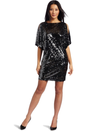 Donna Morgan Dresses -  Donna Morgan Women's Wide Sleeve Dress Gunmetal