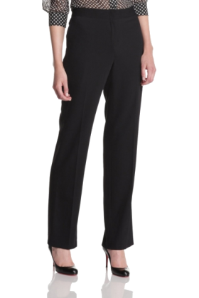 Halston Heritage Pants -  HALSTON HERITAGE Women's High Waisted Pant Black