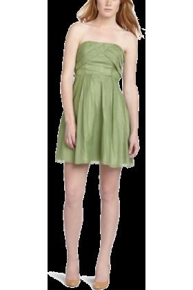 Jessica Simpson Dresses -  Jessica Simpson  Women's Strapless Dress Spring Sage