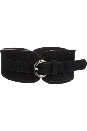 Jessica Simpson Belt -  Jessica Simpson Women's Stretch Suede Belt Black