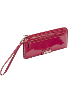 Kenneth Cole Reaction Hand bag -  Kenneth Cole Reaction Zip Around Expanded Wristlet Clutch Womens Wallet Purse