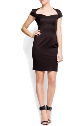 Black Cocktail Dress on Mango Dresses   Mango Women S Cocktail Tube Dress Black