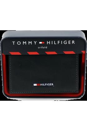 Tommy Hilfiger Wallets -  Men's Tommy Hilfiger Wallet Trifold Black w/ Logo