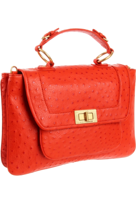 Rebecca Minkoff バッグ -  Rebecca Minkoff Covet Shoulder Bag Persimmon