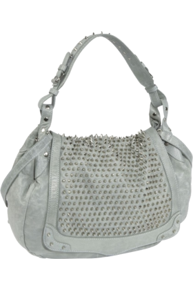 Rebecca Minkoff Bag -  Rebecca Minkoff Moon Struck Silver Hardware  Shoulder Bag Baby Blue